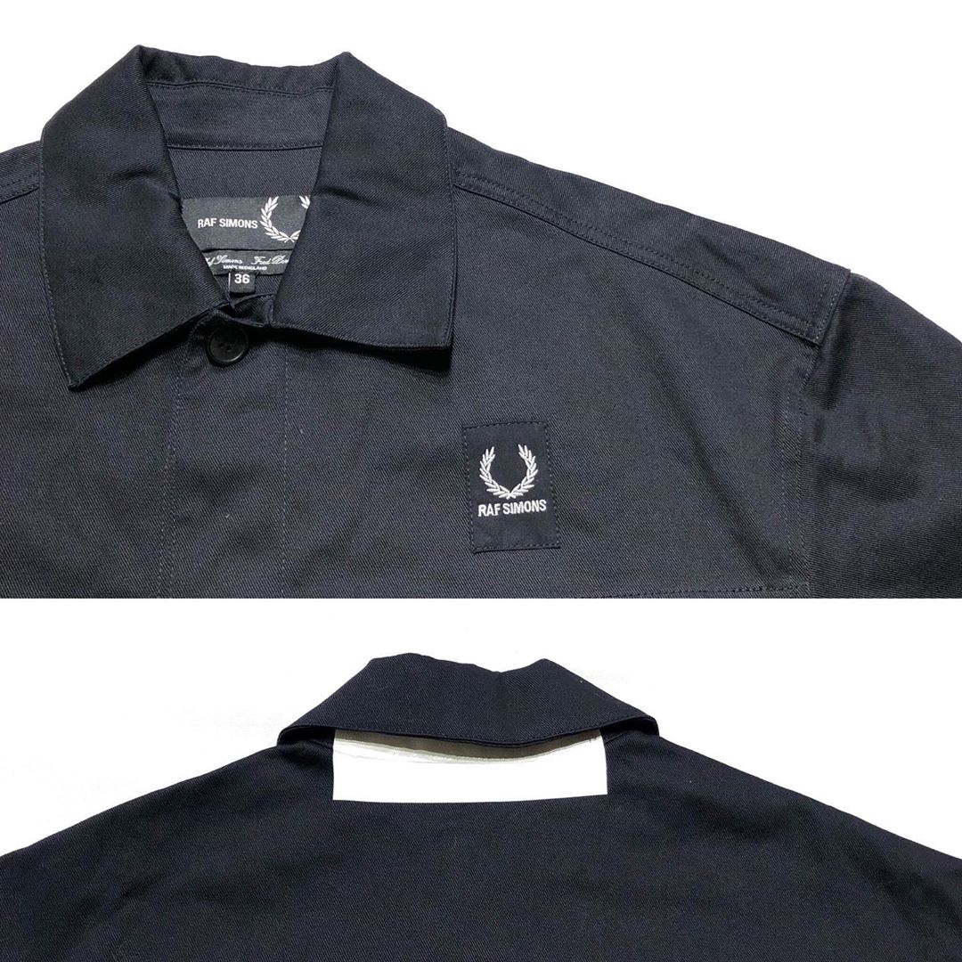 RAF SIMONS×FRED PERRY